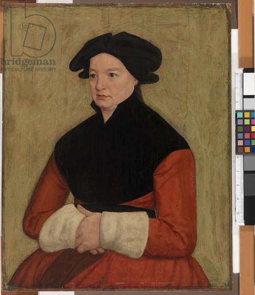 Portrait of a Woman, 1578 (oil on panel)