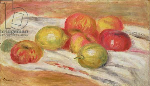 Seven Apples, 1910 (oil on canvas)