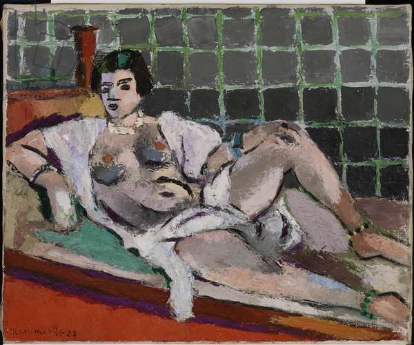 Reclining Odalisque, 1928 (oil on canvas)