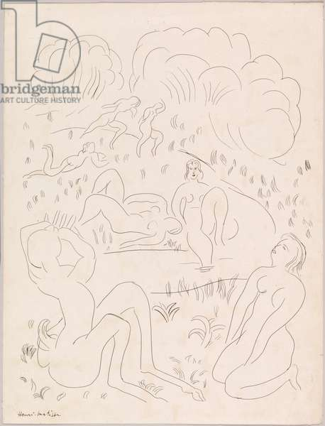 Figures in a Landscape, 1932