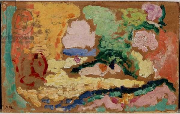 Study for 'Le Bonheur de Vivre', 1905 (oil on canvas)