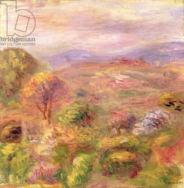 Landscape, 1915 (oil on canvas)