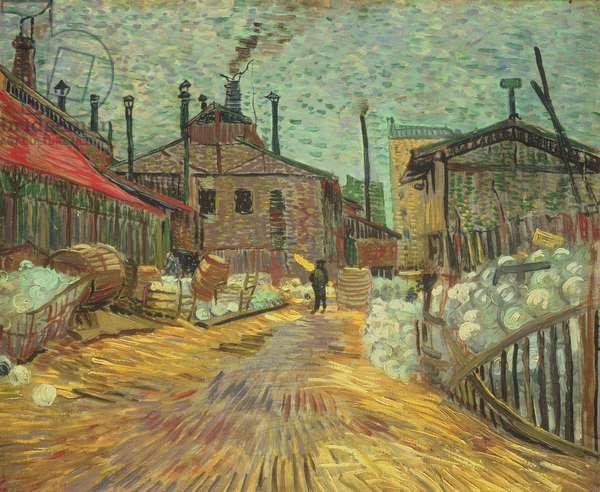 Factories, 1887 (oil on canvas)