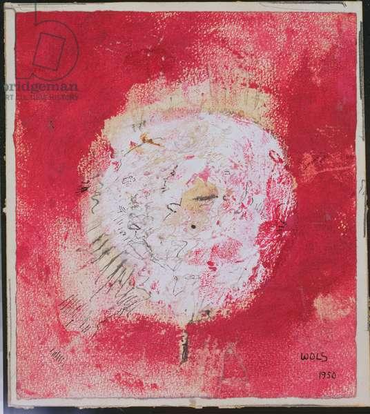 Light Focus, c.1950 (pencil & w/c on paper)