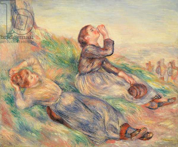 Grape Gatherers Resting, 1884 (oil on canvas)
