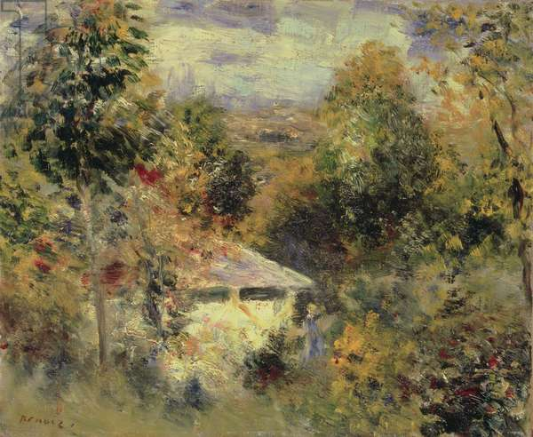 House in the Woods, 1875 (oil on canvas)