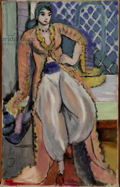 Standing Odalisque, c.1931 (oil on canvas)