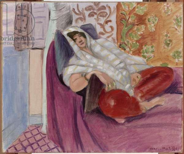 Odalisque, 1920 (oil on canvas)