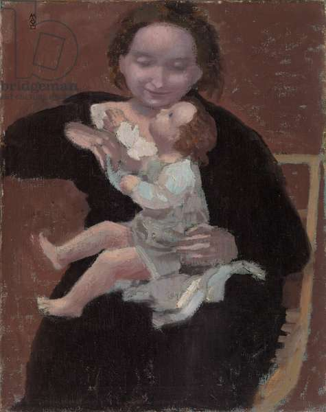 Mother and Child, c. 1895 (oil on canvas)