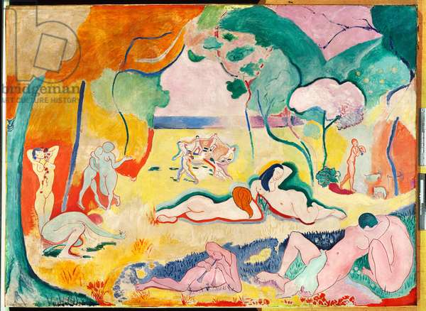 The Joy of Life, 1905-06 (oil on canvas)