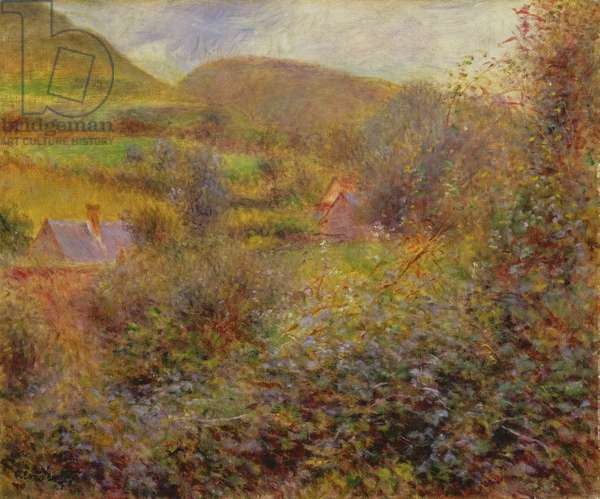 Pourville, 1878 (oil on canvas)