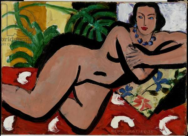Nude with Palms, 1936 (oil on canvas)