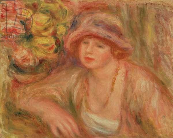 Madame Jean Renoir, 1918 (oil on canvas)