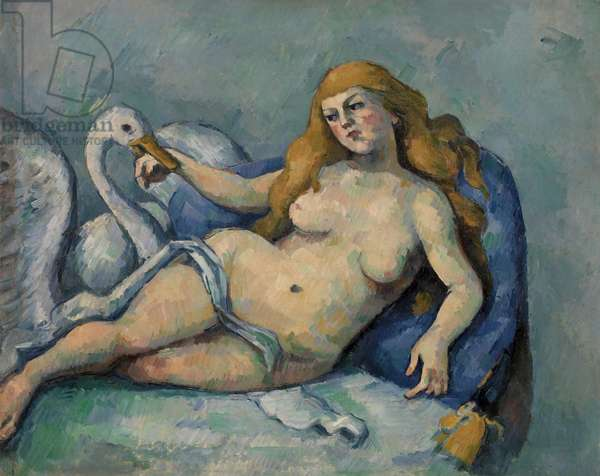 Leda and the Swan, c.1880 (oil on canvas)