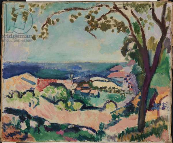 Collioure Landscape, 1906 (oil on canvas)