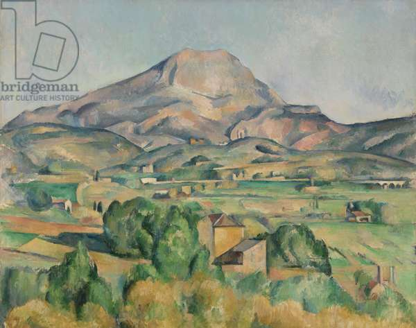 Mont Sainte-Victoire, 1892-95 (oil on canvas)