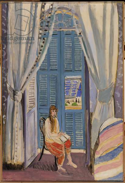 The French Window at Nice, late 1919 (oil on canvas)