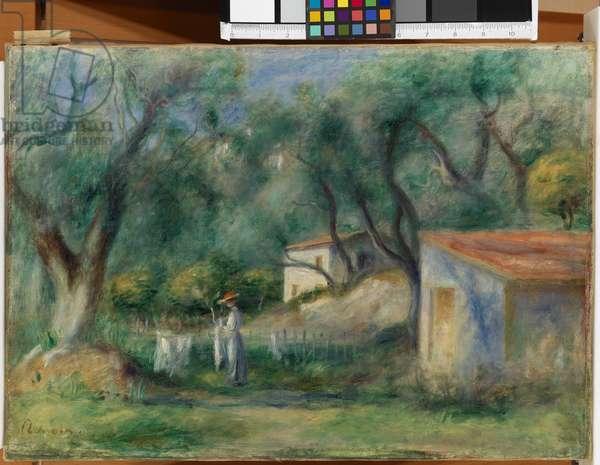 Le Cannet, 'Souvenir of Corot', 1902 (oil on canvas)