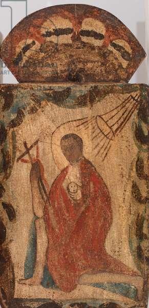 Saint Jerome, c. 1825–30 (water-based paint on wood panel)