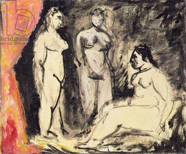 Three Nudes, 1906 (oil on canvas)