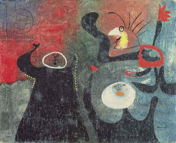 Group of Figures, 1938 (oil on canvas)