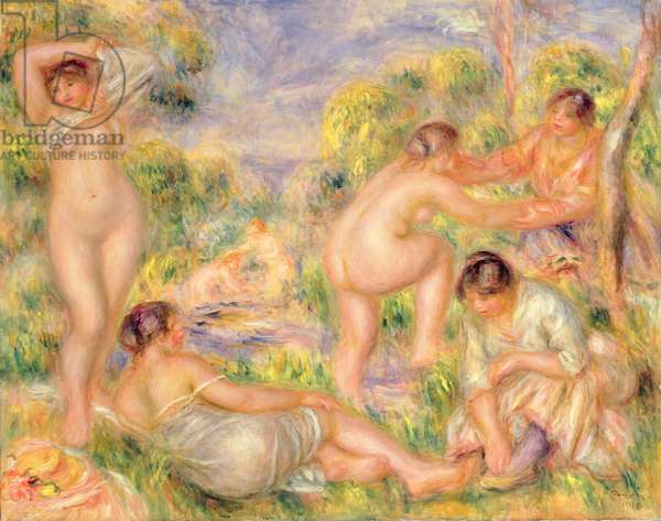 Bathing Group, 1916 (oil on canvas)