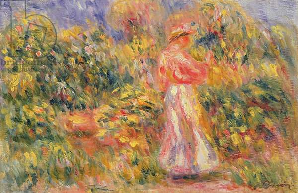 Woman in a Landscape, 1916 (oil on canvas)