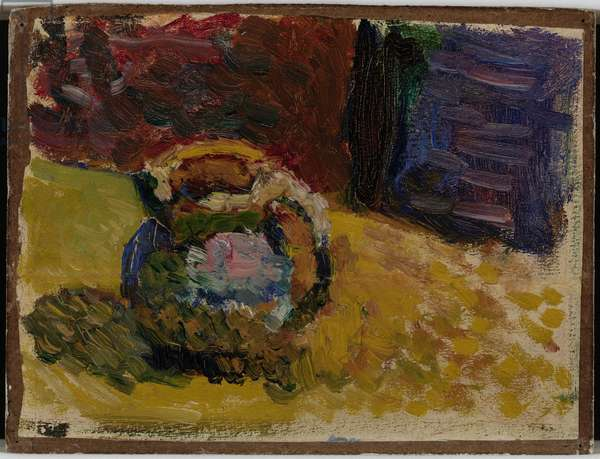 Small Jar in the Autumn at Fenovellet, 1898 (oil on panel)