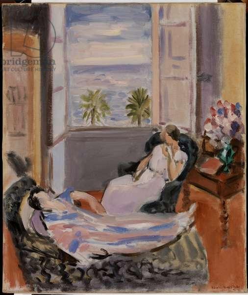 Confidence, 1922 (oil on canvas)