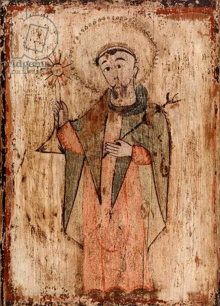 Saint Raymond Nonnatus, c. 1830-1860 (water-based paint on wood panel)