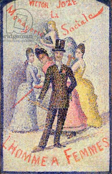 Ladies Man (oil on panel)