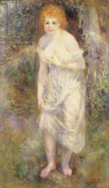Woman at Spring, c.1874 (oil on canvas)