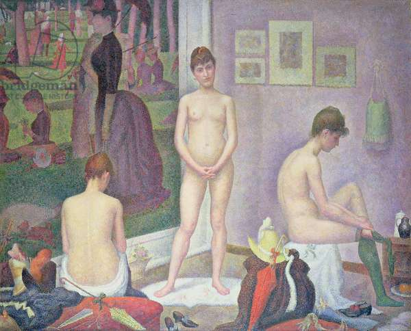 Models, 1886-88 (oil on canvas)