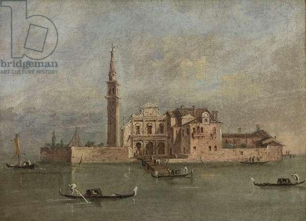 Venetian Church (oil on canvas)