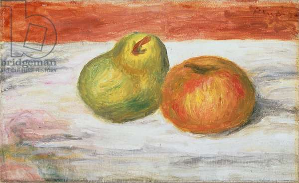 Apple and Pear, 1909-11 (oil on canvas)