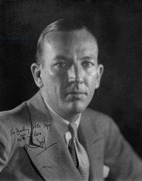 Noel Coward portrait 1930s Signed dedication to Joyce Carey