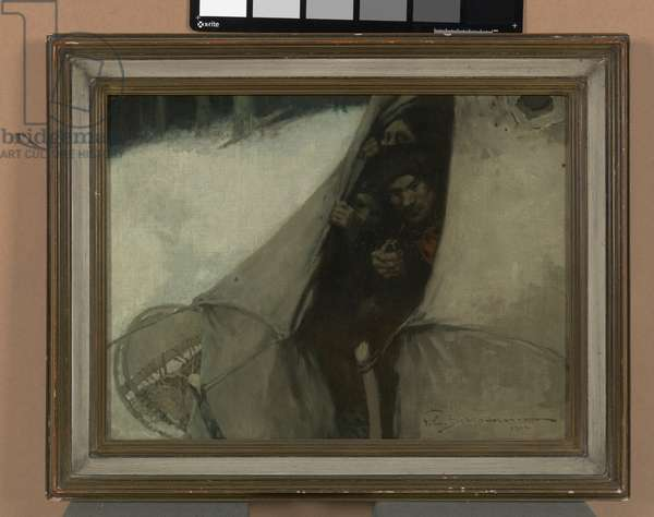 Faces in the Tent (Three Faces in a Tent), 1904 (oil on canvas)