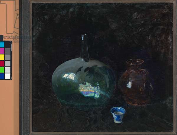 The Dusty Bottle, 1924 (oil on canvas)