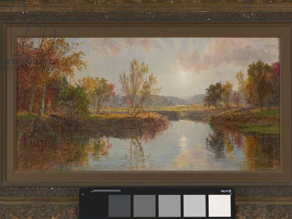 Autumn on the Brandywine River, 1887 (oil on canvas)