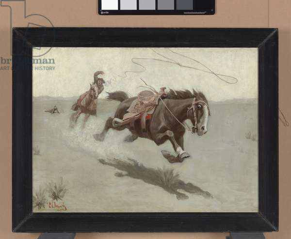 The Runaway, 1903 (oil on canvas)