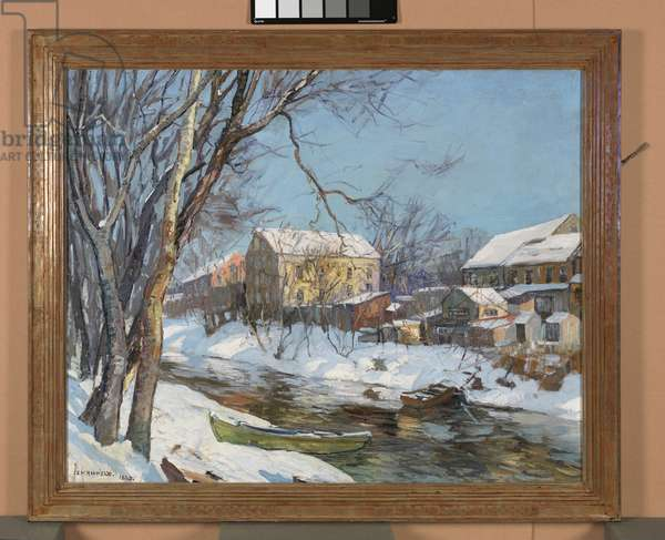 Winter Reflections, 1935 (oil on canvas)