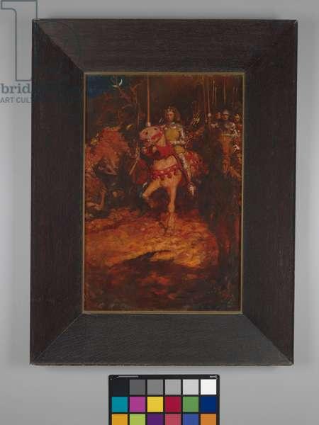 Henry V at Agincourt, 1905 (oil on canvas)
