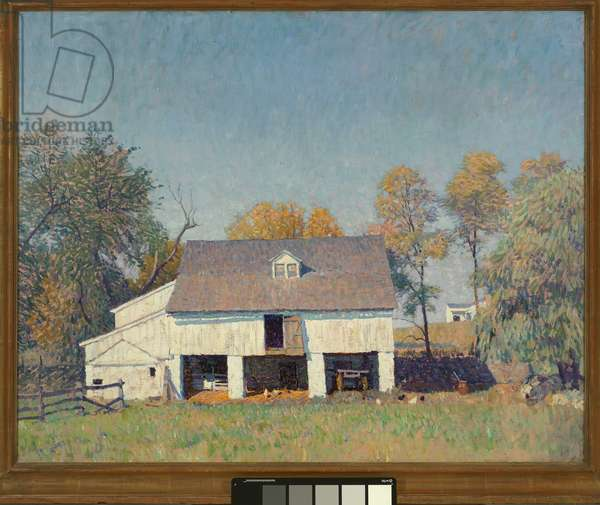 Pyle's Barn, c.1917-1921 (oil on canvas)