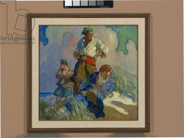 David Balfour, cover illustration, 1924 (oil on canvas)