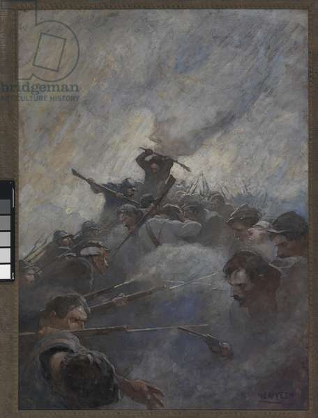 The Bloody Angle, 1912 (oil on canvas)
