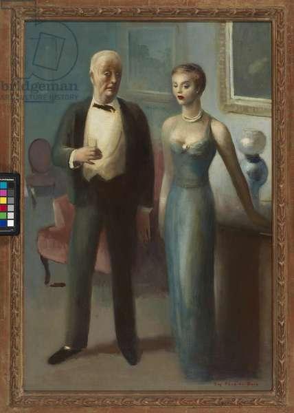 The Appraisal, c.1946 (oil on canvas)