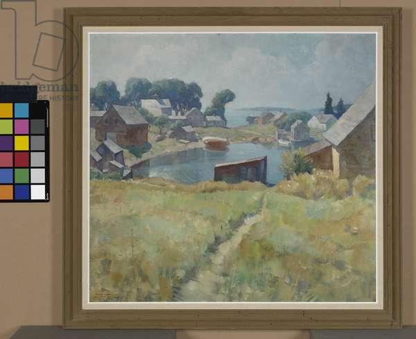 Teel's Landing, Port Clyde, Maine, c.1939 (oil on canvas)
