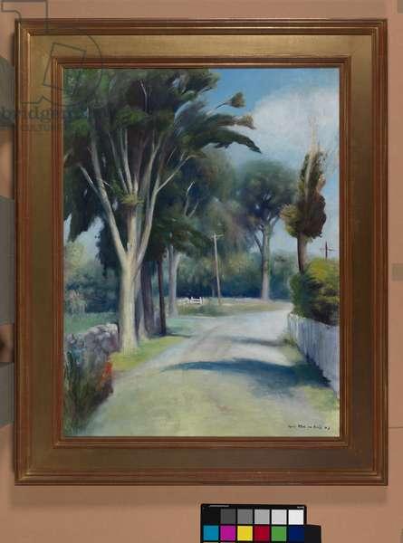 The Decorators, Farmholme Road, 1943 (oil on canvas)