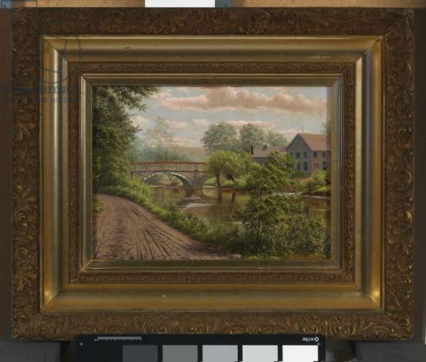 Cope's Bridge, 1896 (oil on canvas)