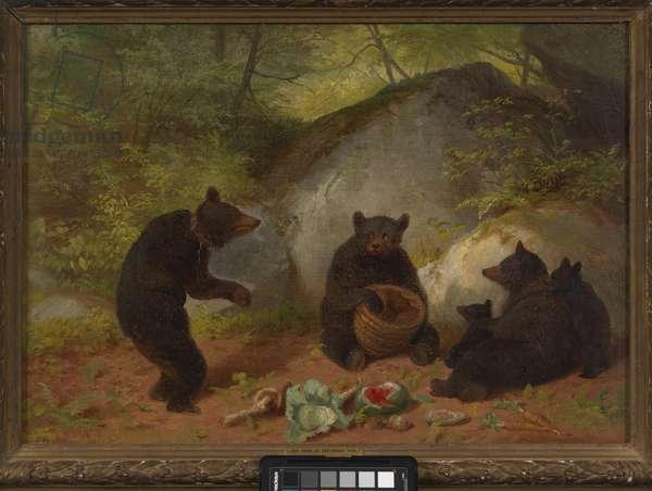 Five Bears, 1869 (oil on canvas)